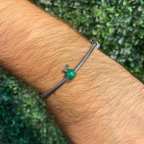 Berloque Maçã Verde
