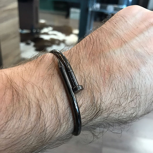 Bracelete Prego Negro