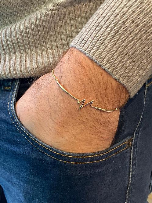 Bracelete Heartbeat Ajustável (cores)