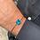 Thumbnail: Pulseira Quadrada Azul Dubai