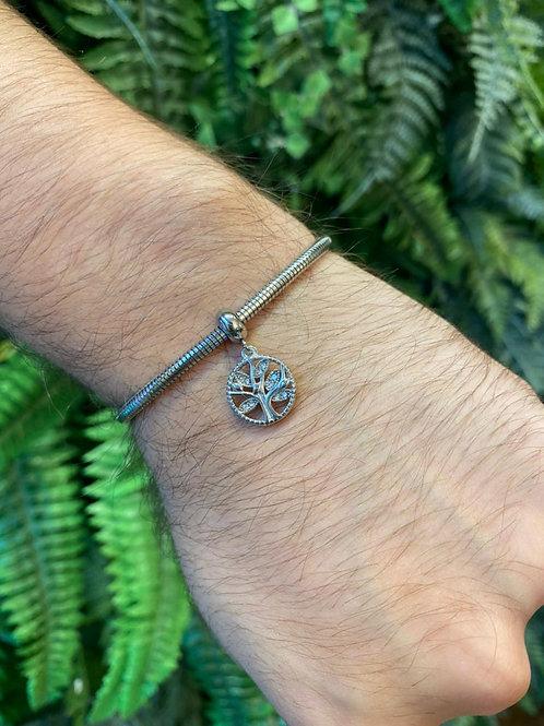 Berloque Mandala Árvore da Vida Cristal