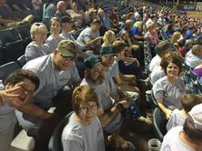LFUCC congregants attending a New Orleans Zephyrs game