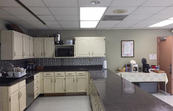 Fellowship Hall Kitchen