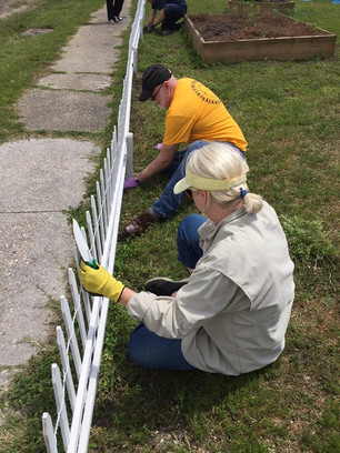 LFUCC members serving during mission outreach.