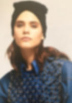 A picture of one of my '40 turban on MarieClaire Italia