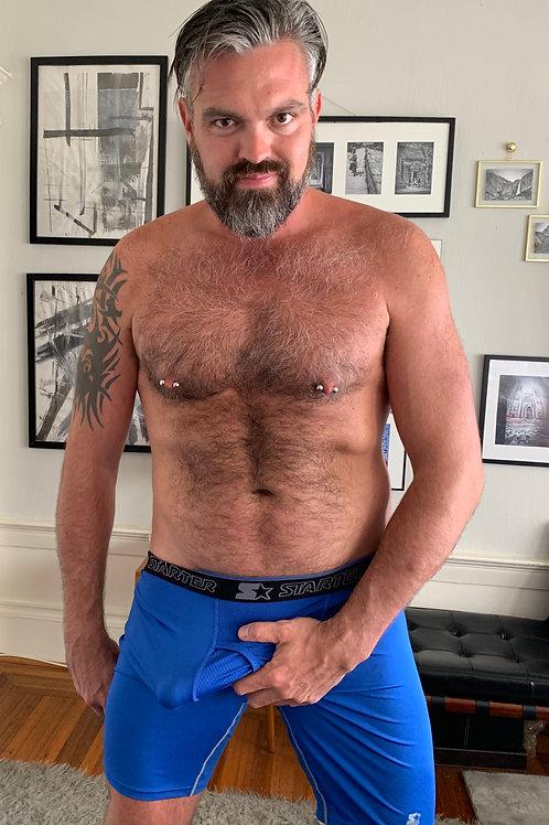 XL Blue Shorts