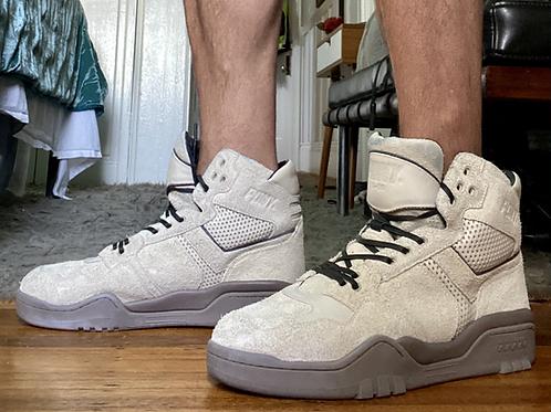 Pony Sneakers Cream Suede