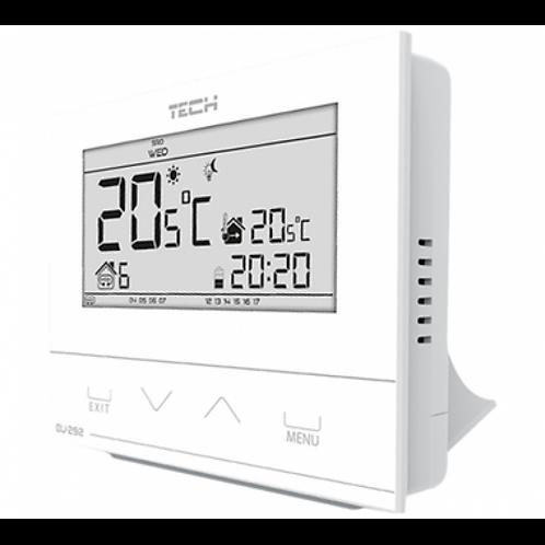TECH Проводной комнатный двухпозиционный терморегулятор, белый