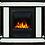 Thumbnail: Портал Scala Classic камень сланец скалистый белый, шпон тёмный дуб