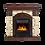 Thumbnail: Портал Torre Classic камень сланец натуральный, шпон венге