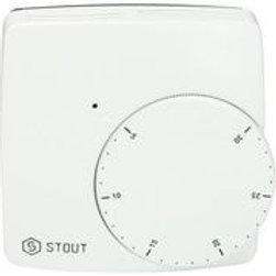 Термостат комнатный электронный WFHT-DUAL включ. дистанционный датчик «в пол» L=