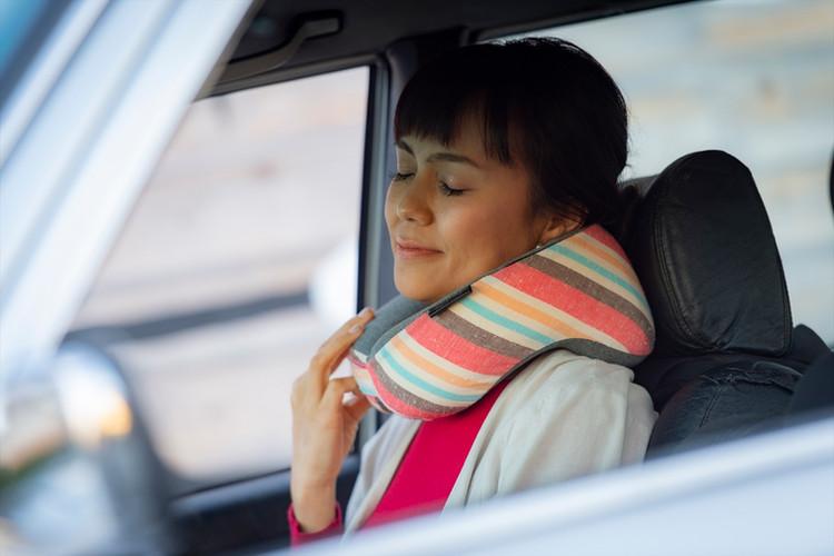 運転の休憩にリラックス