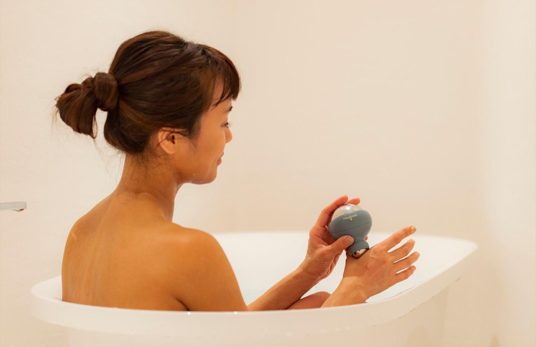 HOT お風呂で温めて
