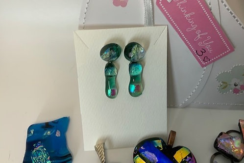 Dangling Jade Delights Earrings