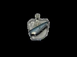 Black Diamond Silver Pendant