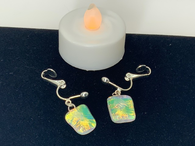 Vibrant Shine Glass Tiki Jewelry