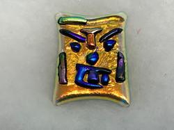 Glass Tiki Fire God