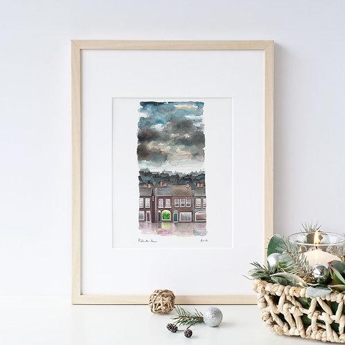A4 Plant Shop Print