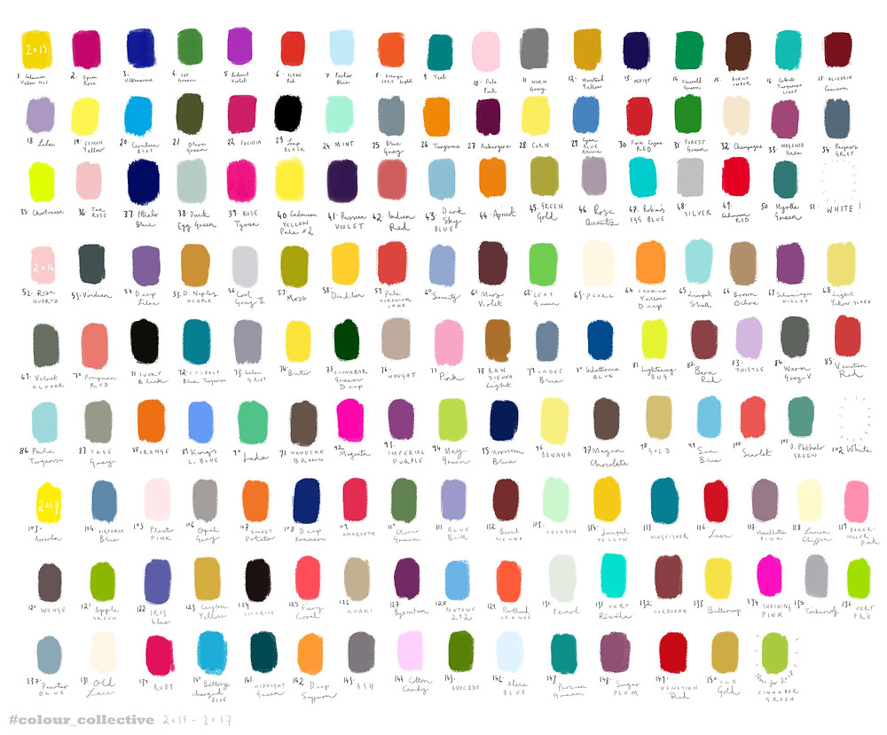 #colour_collective 2015-17