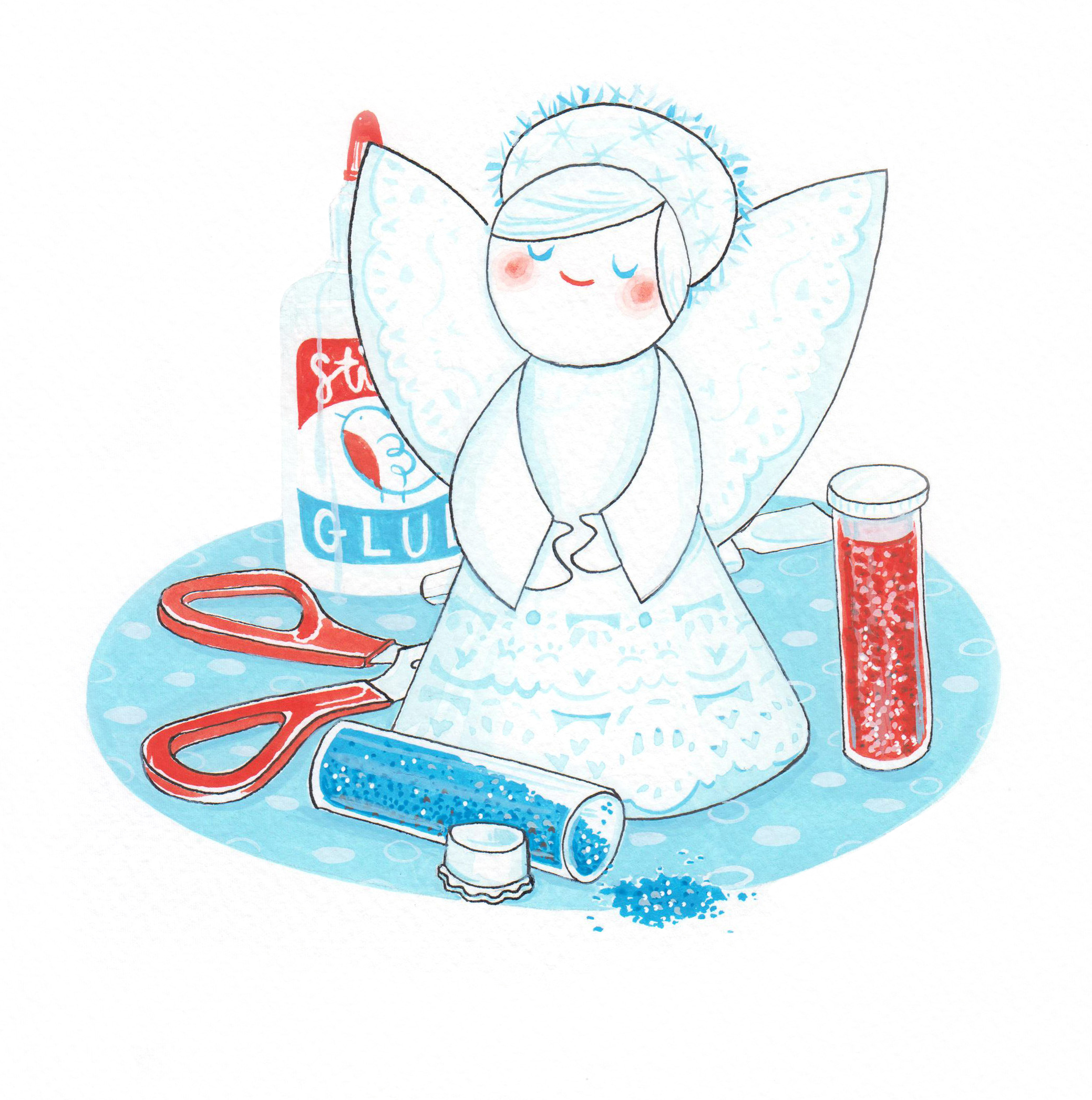 Doily Angel