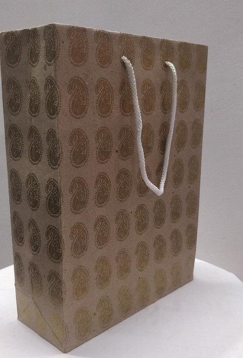 Hayath Kraft Wedding bag HPB1025 (W7xH10xG3 inch) 180GSM