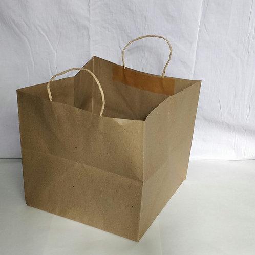 Hayath Kraft Cake bags HPB1016 (W10 x H10 x G10 inch )  108 GSM