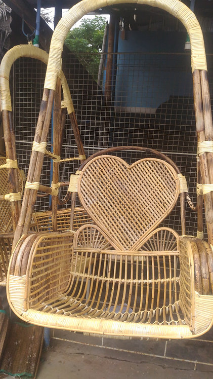 Special Swing  Cane Jula Heart  Shape HB221