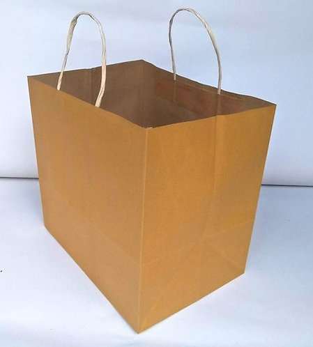 Hayath Kraft Bakery bag HPB1018 (W9 x H8 x G7 inch ) 120 GSM