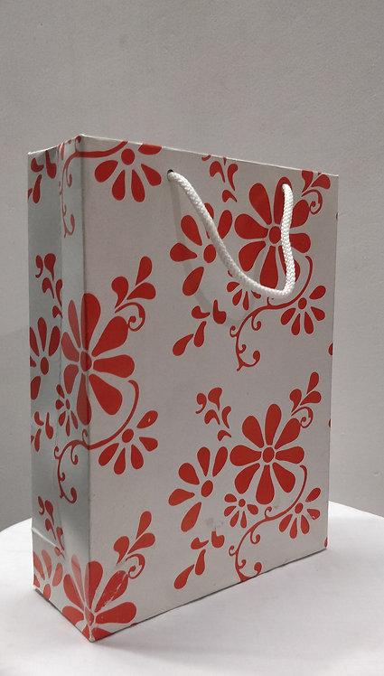 Hayath White Wedding bag HPB1026 (W7xH9xG3 inch) 180GSM