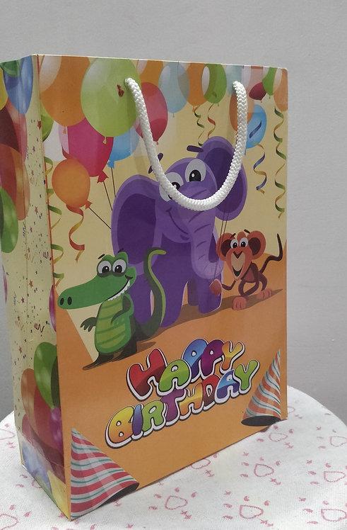 Hayath Birthday Party bag HPB1024 (W8xH11xG3 inch) 180GSM