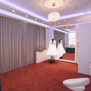 Design and Build Luxury Bridal studio