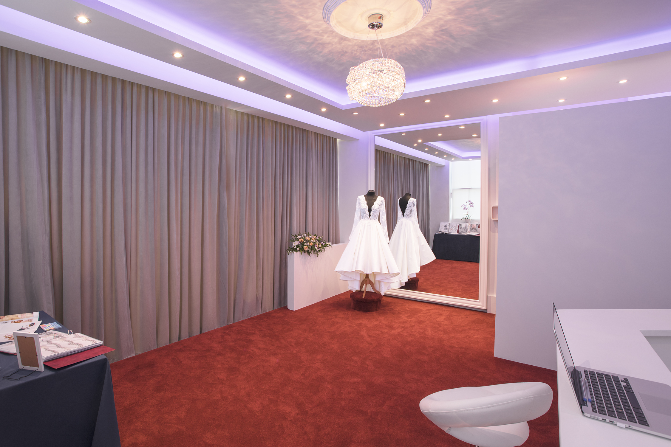 Design & Build Luxury Bridal Room