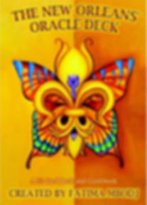 new orleans oracle card deck: package