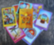 new orleans oracle card deck: spread