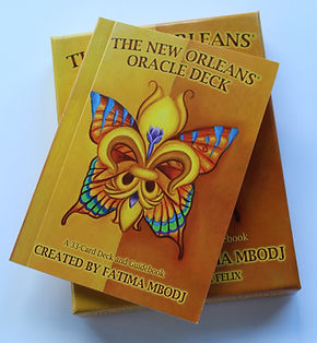 new orleans oracle deck - package and guide book