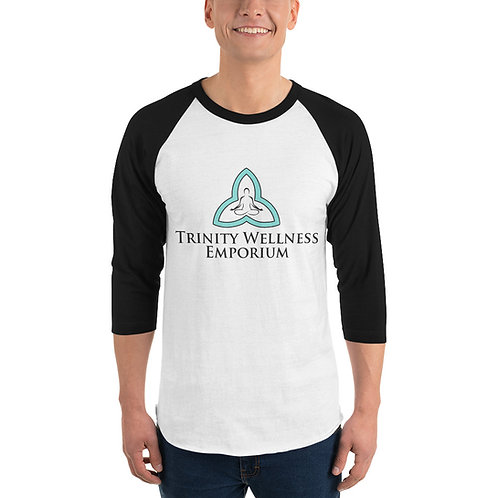 3/4 sleeve raglan Trinity shirt