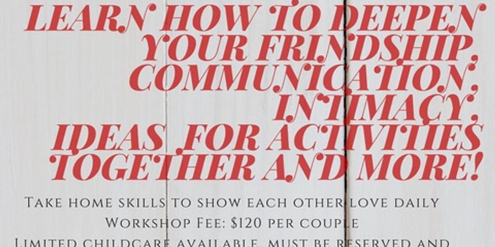 Valentine's Day Couples Workshop