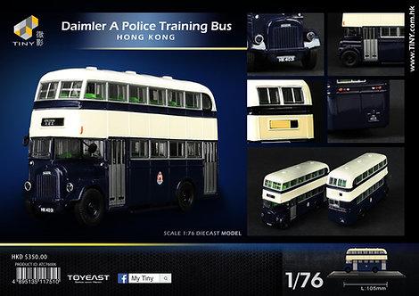 TINY 1/76 DAIMLER A POLICE TRAINING BUS 皇家警察訓練巴士