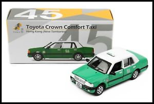 Tiny City No.45 Toyota Crown Comfort Taxi 新界的士