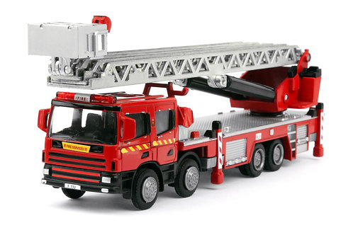 TINY CITY 1/50 DX2 HONG KONG FSD TURNTABLE LADDER 消防雲梯車