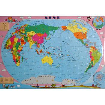 磁樂寶拼圖──世界地圖