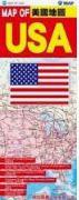 美國地圖 MAP OF USA