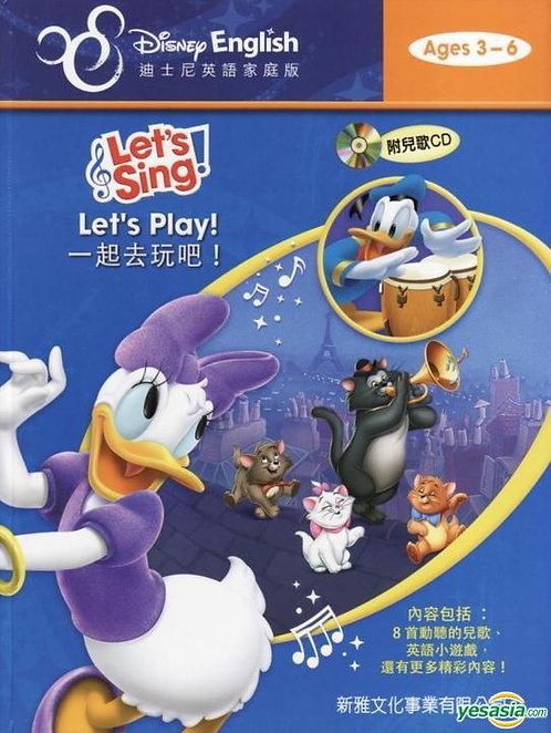 一起來玩吧!(附CD)[迪士尼英語家庭版Let's Sing!]