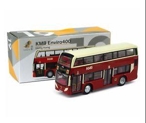 TINY Hong Kong Bus HK #19 KMB Enviro400 複古紅燈籠E400 93K