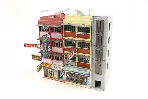 TINY Hong Kong City Bd10 HK Oldy Building Painted Diorama Set 城市 BD10 唐樓模型套裝