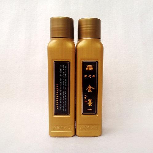 齊大森金色墨汁120g