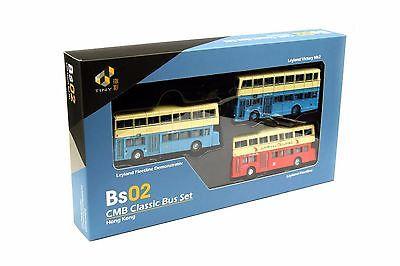 Tiny City die-cast model car - Bs02 CMB Classic Bus Set TINY城市合金車仔 - BS02 中巴套裝