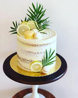 Bem tropical e refrescante! Esse bolo li