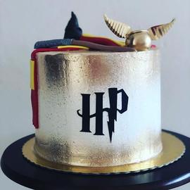 E esse bolo do Harry Potter gente!!!! Am