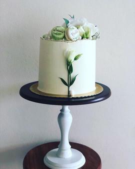 Um lindo bolo de bodas de 10 anos... tod